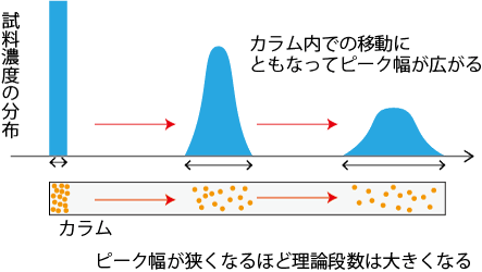 理論段数の解説図